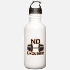 No Excuses Water Bottle