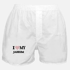 I Love my Jaheim (Heart Made from Lov Boxer Shorts