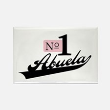 Number One Abuela Rectangle Magnet