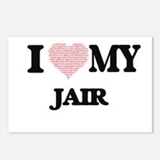 I Love my Jair (Heart Mad Postcards (Package of 8)