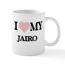 I Love my Jairo (Heart Made from Love my word Mugs