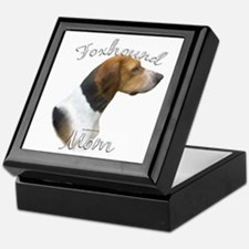 Foxhound Mom2 Keepsake Box