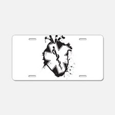star of life heart Aluminum License Plate