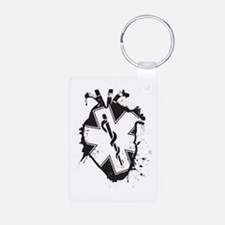 star of life heart Keychains