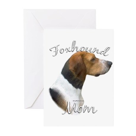 Foxhound Mom2 Greeting Cards (Pk of 10)