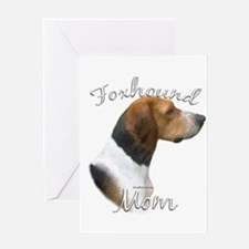 Foxhound Mom2 Greeting Card
