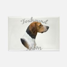 Foxhound Mom2 Rectangle Magnet