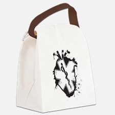 star of life heart Canvas Lunch Bag