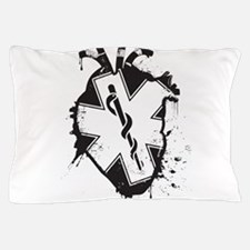star of life heart Pillow Case