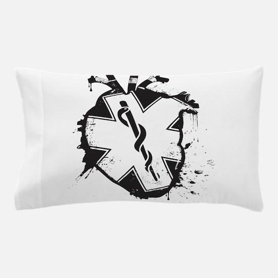 star of life heart Pillow Case