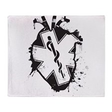star of life heart Throw Blanket