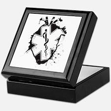 star of life heart Keepsake Box