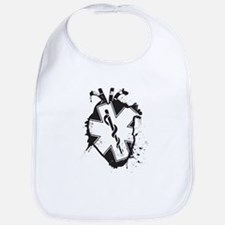 star of life heart Bib