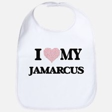 I Love my Jamarcus (Heart Made from Love my wo Bib