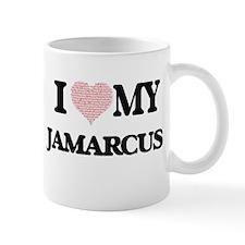 I Love my Jamarcus (Heart Made from Love my w Mugs