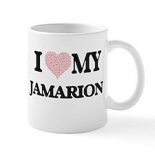 I Love my Jamarion (Heart Made from Love my w Mugs