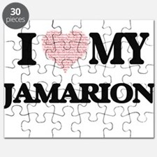 I Love my Jamarion (Heart Made from Love my Puzzle