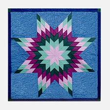 Star Quilt Tile Coaster
