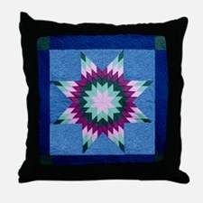 Star Quilt Throw Pillow