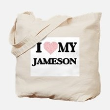I Love my Jameson (Heart Made from Love m Tote Bag