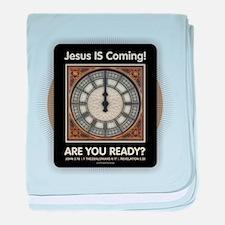 Jesus is Coming baby blanket