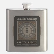 Jesus is Coming Flask