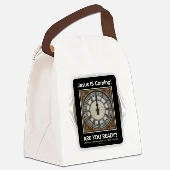 Jesus is Coming Canvas Lunch Bag