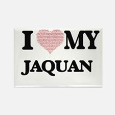 I Love my Jaquan (Heart Made from Love my Magnets