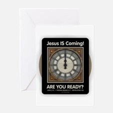 Jesus is Coming Greeting Cards