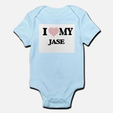 I Love my Jase (Heart Made from Love my Body Suit