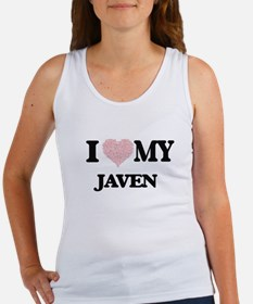 I Love my Javen (Heart Made from Love my Tank Top