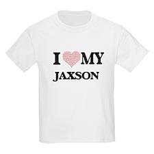 I Love my Jaxson (Heart Made from Love my T-Shirt