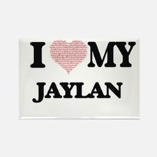 I Love my Jaylan (Heart Made from Love my Magnets