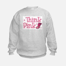 PINK Christmas Stocking 5 Sweatshirt