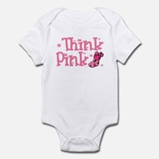 PINK Christmas Stocking 5 Infant Bodysuit