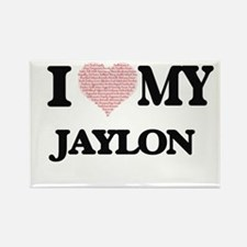 I Love my Jaylon (Heart Made from Love my Magnets