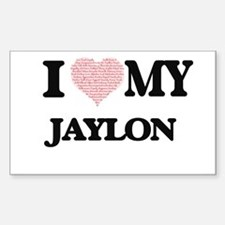 I Love my Jaylon (Heart Made from Love my Decal