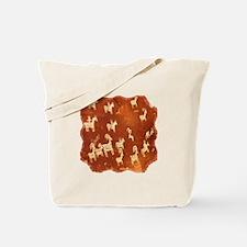 Atlatl Rock Petroglyphs Tote Bag