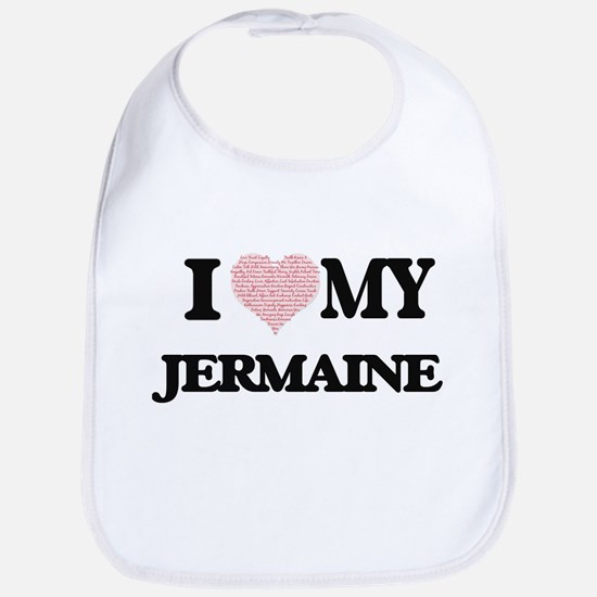 I Love my Jermaine (Heart Made from Love my wo Bib
