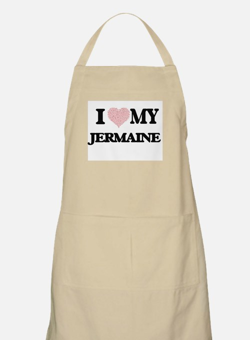 I Love my Jermaine (Heart Made from Love my Apron