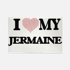 I Love my Jermaine (Heart Made from Love m Magnets
