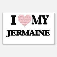I Love my Jermaine (Heart Made from Love m Decal