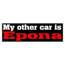 Epona Bumper Bumper Sticker