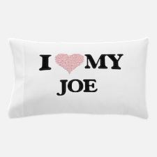 I Love my Joe (Heart Made from Love my Pillow Case