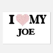 I Love my Joe (Heart Made Postcards (Package of 8)