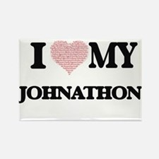 I Love my Johnathon (Heart Made from Love Magnets