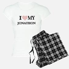 I Love my Jonathon (Heart M Pajamas