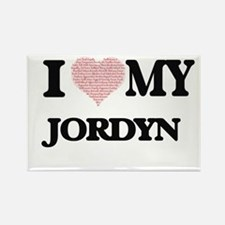 I Love my Jordyn (Heart Made from Love my Magnets