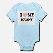 I Love my Jovany (Heart Made from Love m Body Suit