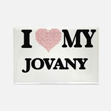 I Love my Jovany (Heart Made from Love my Magnets